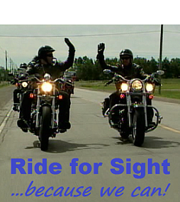 Ride for Sight High Five