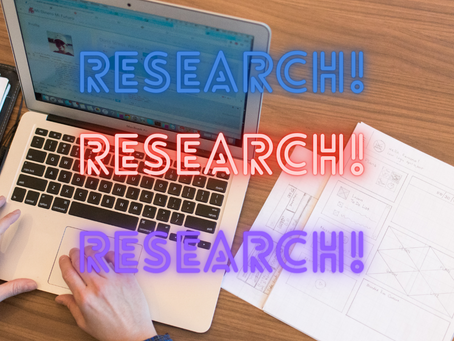 You did how much research?