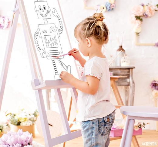 Poster à colorier