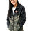 Thumbnail: Black&Camo Zip Windbreaker