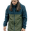 Thumbnail: Green/Navy Zip Windbreaker