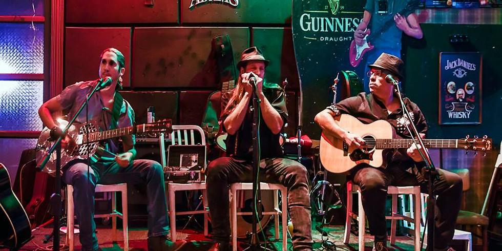 Dov Hammer & Blues power at the Rodeo pub, Haifa