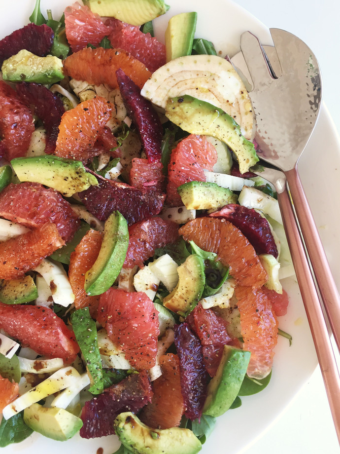 Citrus Salad with Arugula and Fennel