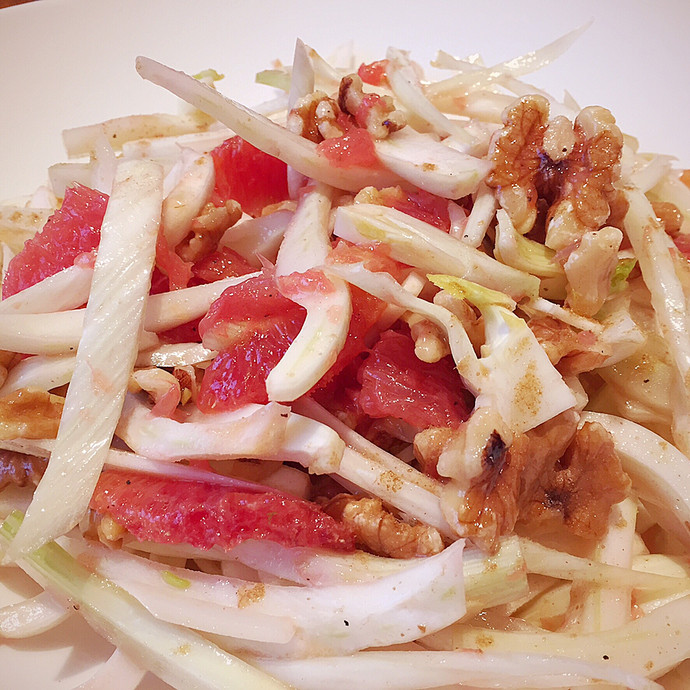 Fennel Salad with Citrus and Walnuts