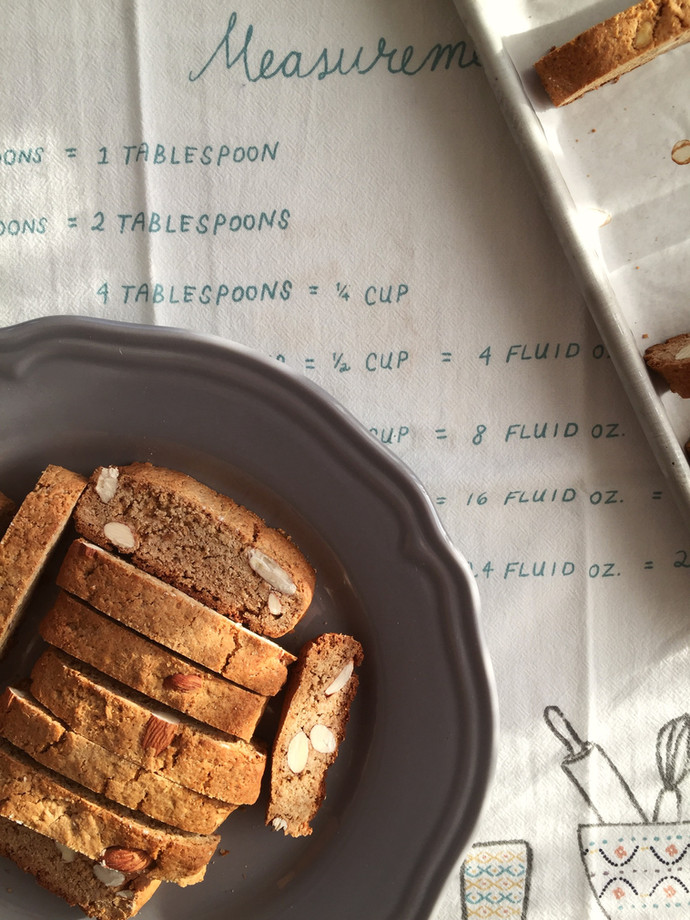Almond Honey Biscotti