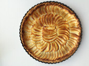 Apple Normandy Tart