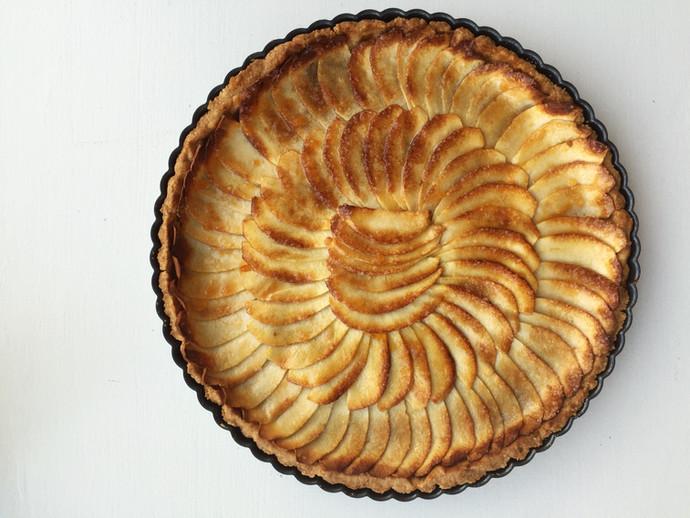 Apple Normandy Tart
