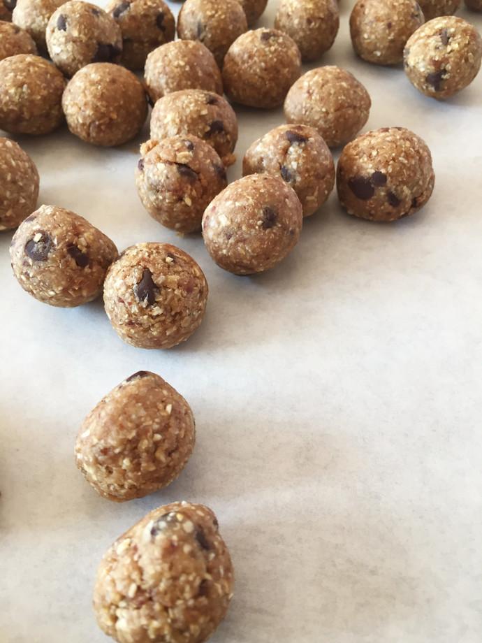 Cookie Dough Oat Balls