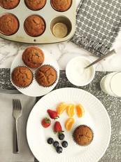 Chocolate Chip Breakfast Muffins