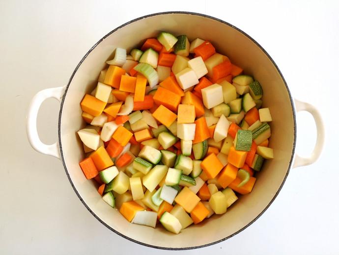 Mrs. Z's Vegetable Soup