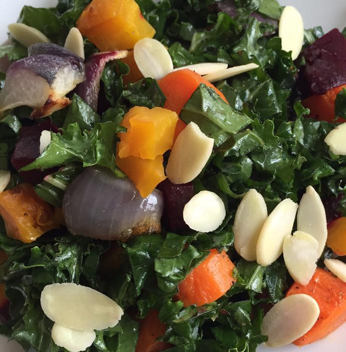 Kale and Almond Salad