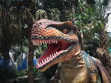 Rent a Dinosaur character