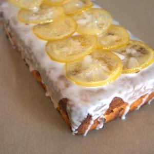 CANDIED TAS LEMON CAKE