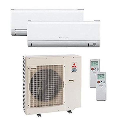mitsubishi 36000 BTu mini split heating & cooling system