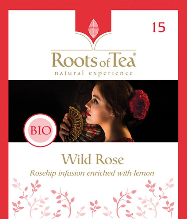 Roots of Tea - 15-Wild Rose BIO 20x2,2gr