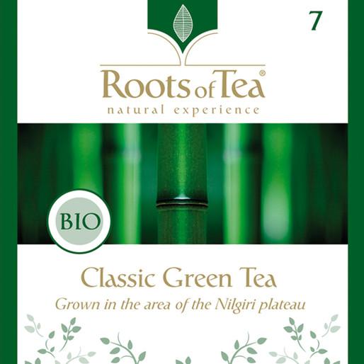 Roots of Tea - 07-Classic Green Tea BIO