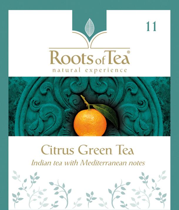 Roots of Tea - 11-Citrus Green Tea 20x2,