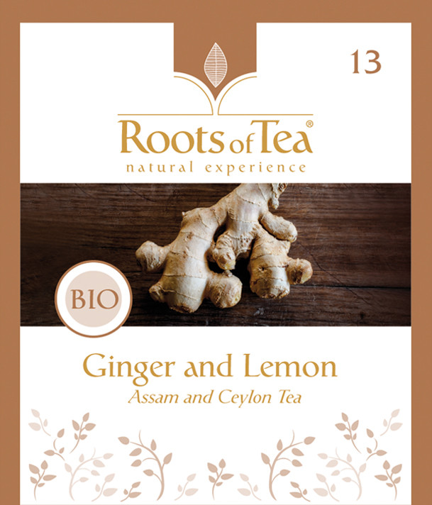 Roots of Tea - 13-Ginger and Lemon BIO 2