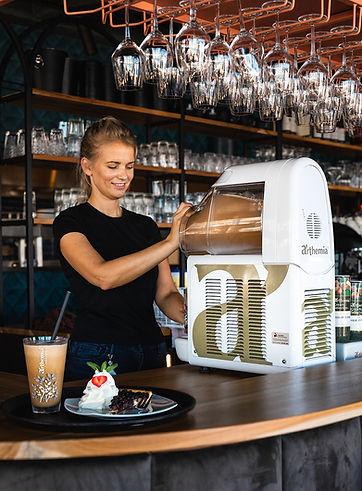 IJskoffie machine
