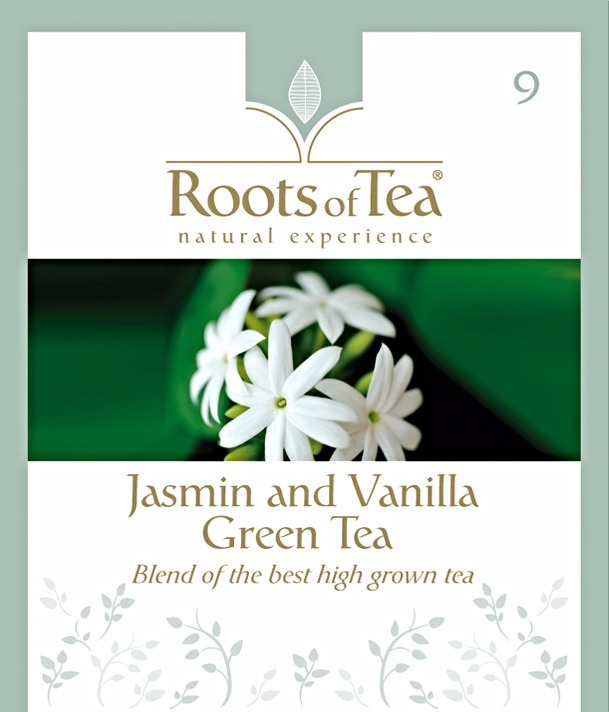 09-Jasmine and Vanilla Green Tea