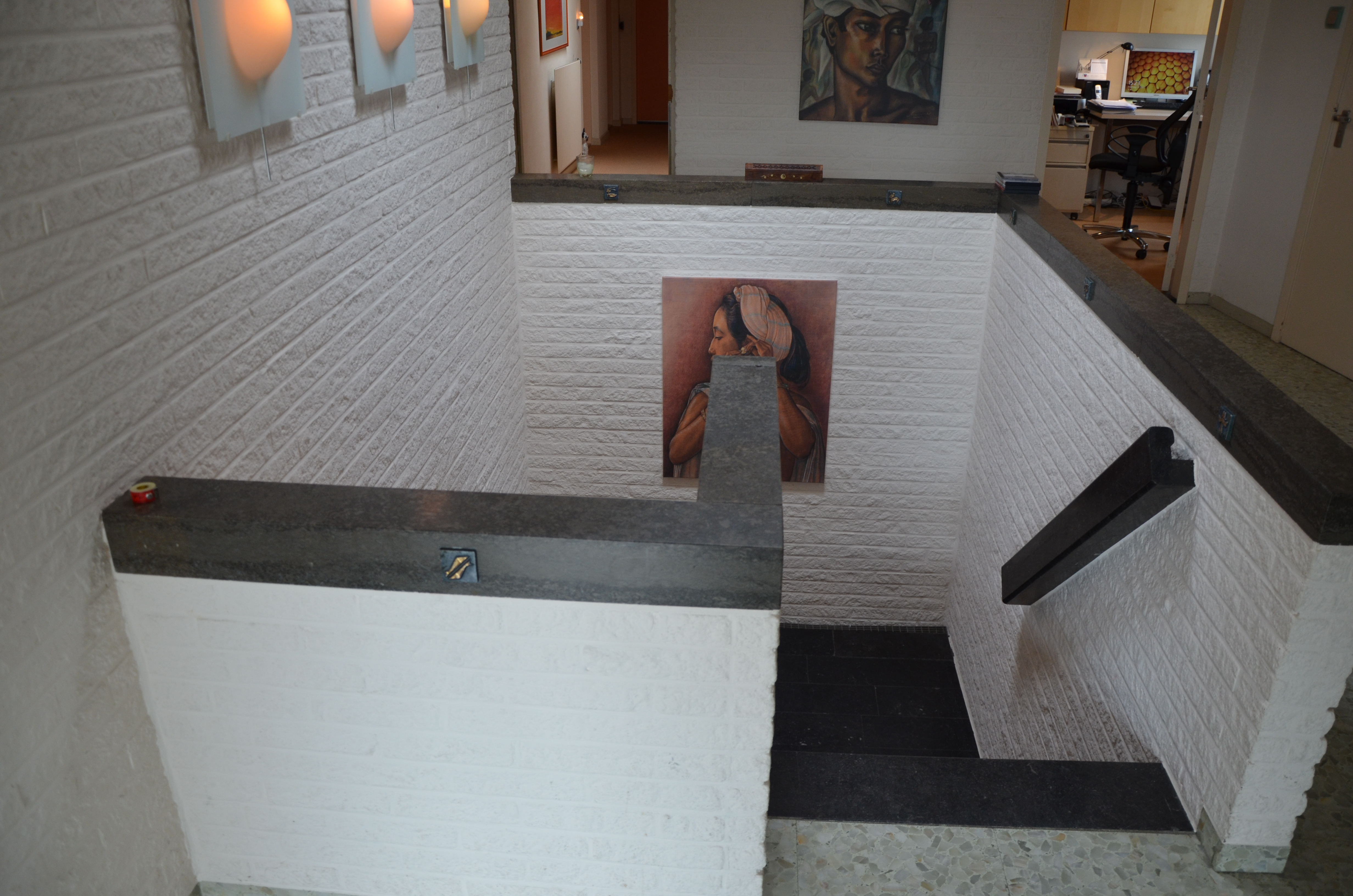 trap naar benedenverdieping