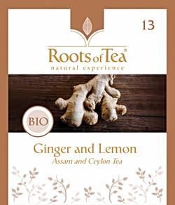13-Ginger and Lemon BIO