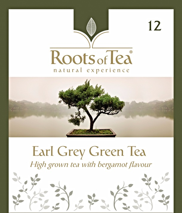 12-Earl Grey Green Tea