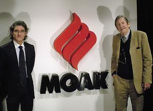 Moak, koffie, Sandro Spadola, Bob Noorda, Moak logo