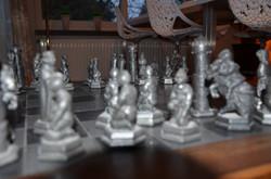 het schaakspel
