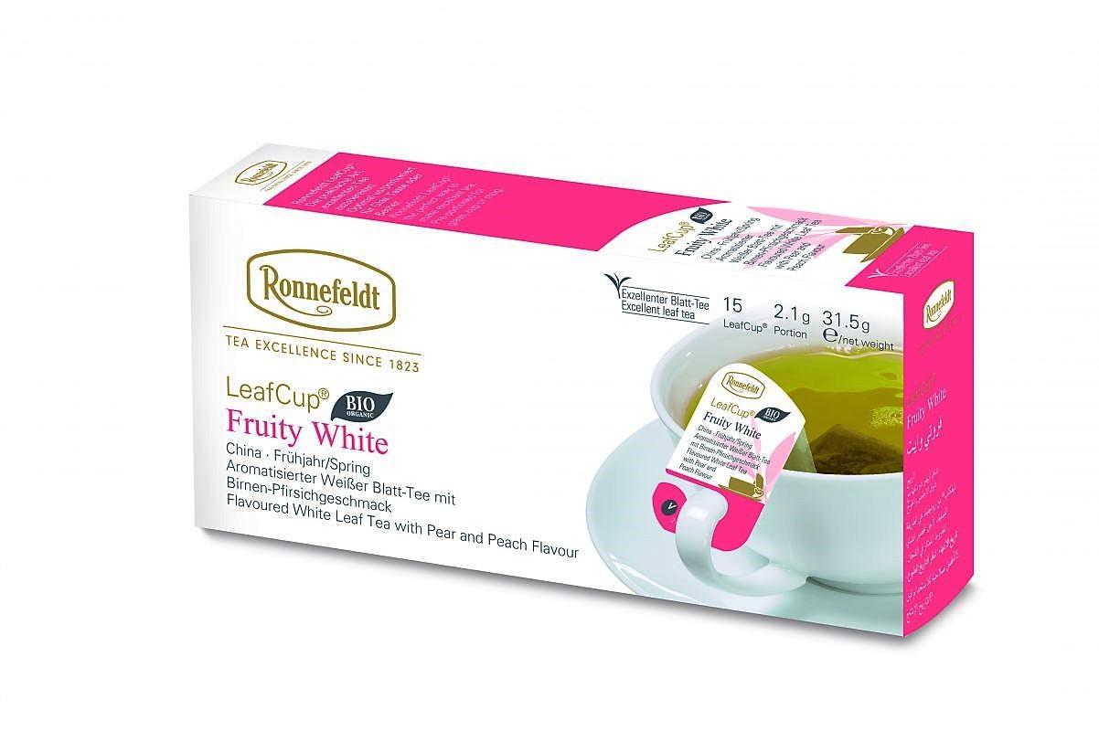 102110 Ronnefeldt LeafCup - 10-Fruity White BIO 15x2,1gr.