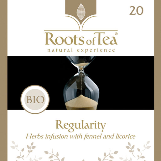 Roots of Tea - 20-Regularity BIO 20x2,2g