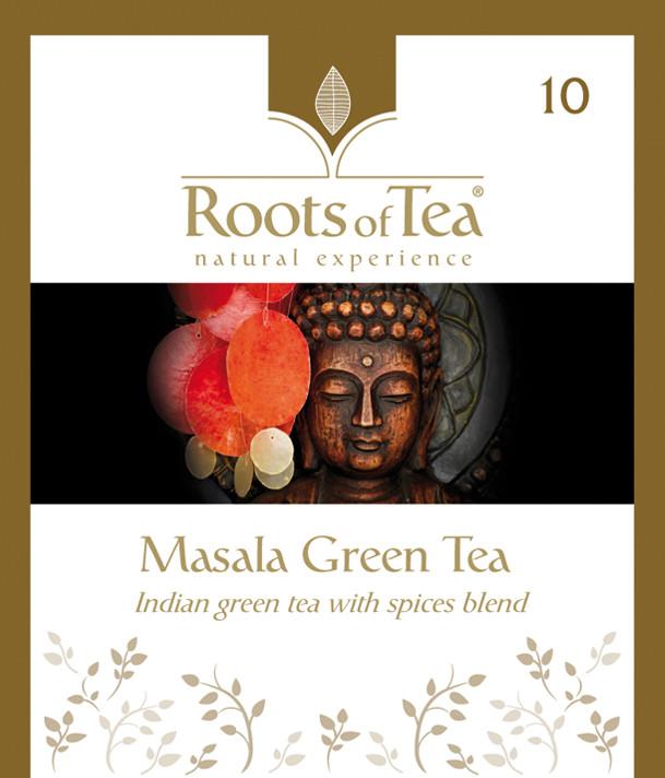 Roots of Tea - 10-Masala Green Tea 20x2,