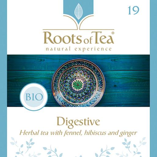 Roots of Tea - 19-Digestive BIO 20x2,2gr