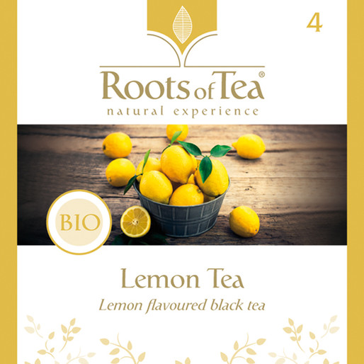Roots of Tea - 04-Lemon Tea BIO 20x2,2gr