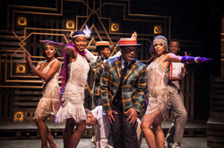 The company in A Harlem Dream at the Young Vic. Photo by Chris Nash