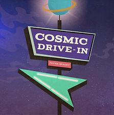 Cosmic Drive In - Peter Spacey - Graphic Album Art