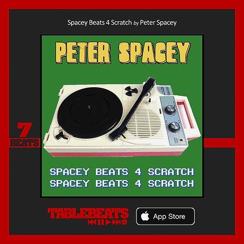 Table Beats - Peter Spacey - Spacey Beats 4 Scratch.JPG