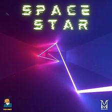 Space Star - Peter Spacey x Monster Music - Album Art