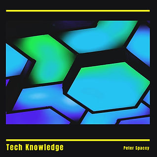 Peter Spacey - Tech Knowledge - Album Art