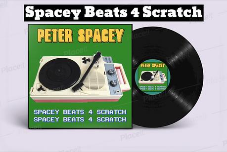 Spacey Beats 4 Scratch - Vinyl Mockup.pn