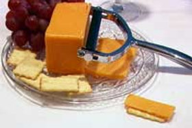 Hand-Held Chrome-Plated Cheese Slicer