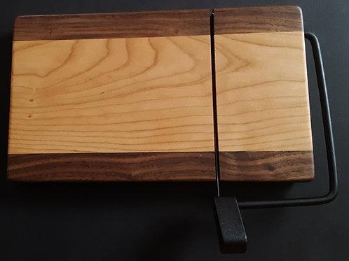 Cherry and Walnut Wood slicer