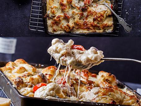 Easy Cheesy Vegetable Bake