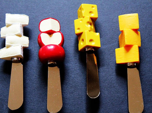 Say Cheese Spreaders—Set of 4