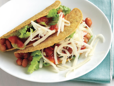 Pinto Bean Tacos, perfect for Taco Tuesday or any day!