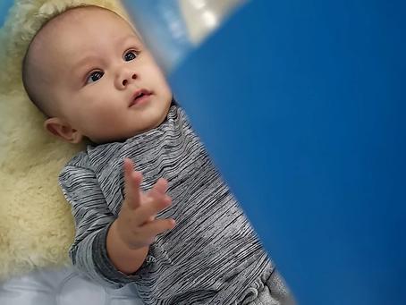 พัฒนาการของลูกน้อยวัย 4-6 เดือน