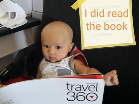 เคล็ดลับน้องนั่งเครื่องบินตอนอายุ 1 เดือน