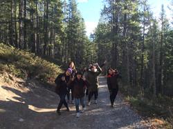 Hiking in Fall