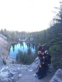 Grassi Lakes Hiking - Fall