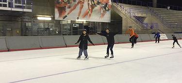 オリンピックオーバル・アイススケート